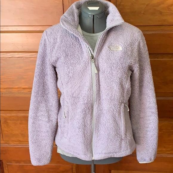 buy popular 0cd1d b3721 North Face ultra Violet Fleece Teddy coat Jacket